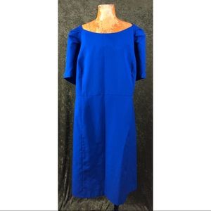 Roaman's Dresses - LAST CHANCE🐬Roaman's plus size blue retro dress